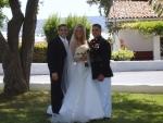 Daren with the happy couple