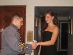 Tristyn gets her corsage